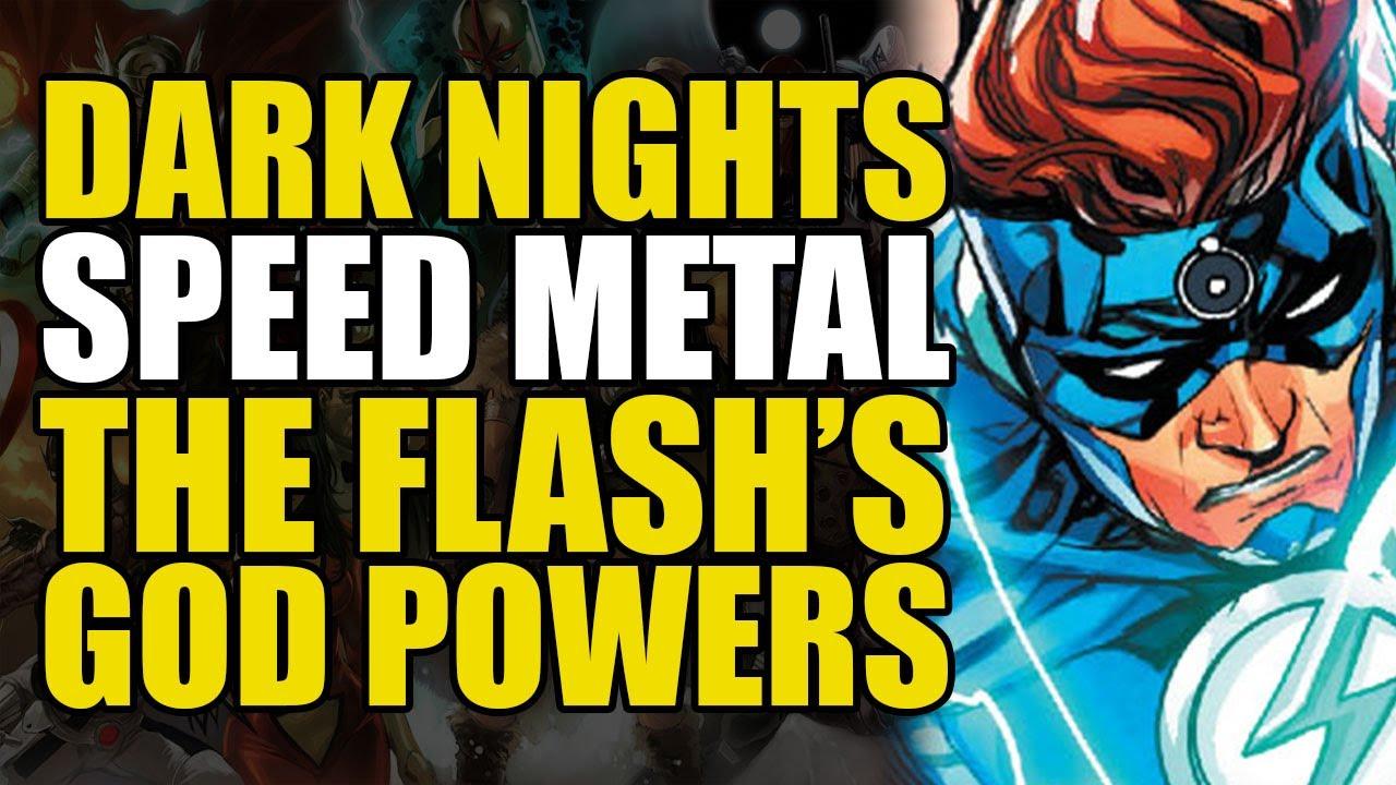 The Flash's God Powers: Dark Nights Death Metal - Speed Metal One Shot | Comics Explained