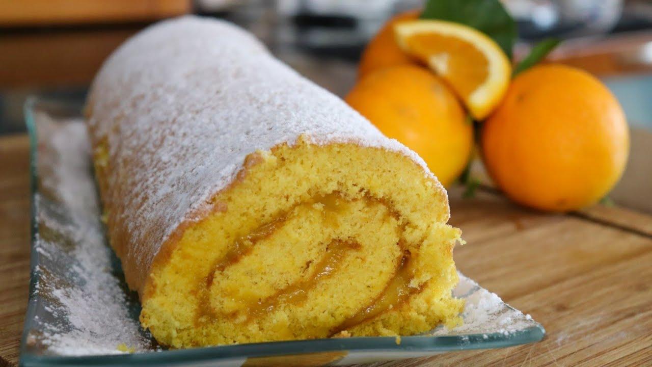 Download Torta de Laranja com Creme de Laranja | Muito Fofa e Simples!