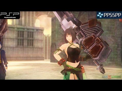 Gods Eater Burst - PSP Gameplay 1080p (PPSSPP)