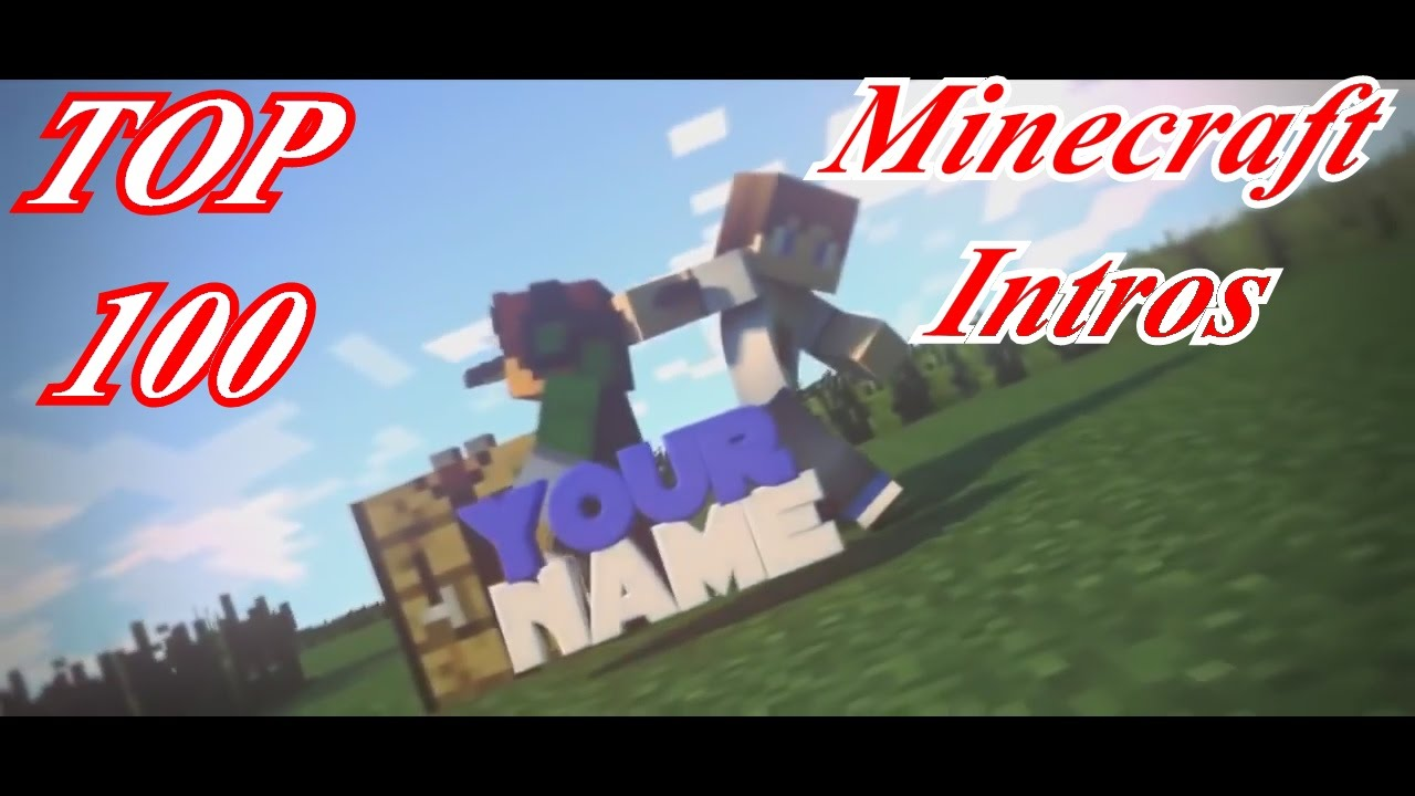 FREE Top 100 Minecraft Intro Templates 2016: Blender, Cinema 4D ...