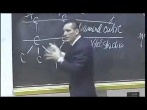 Diamond vs graphite (Donald Sadoway, MIT)