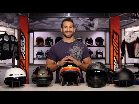 Best Motorcycle Half Helmets at RevZilla.com
