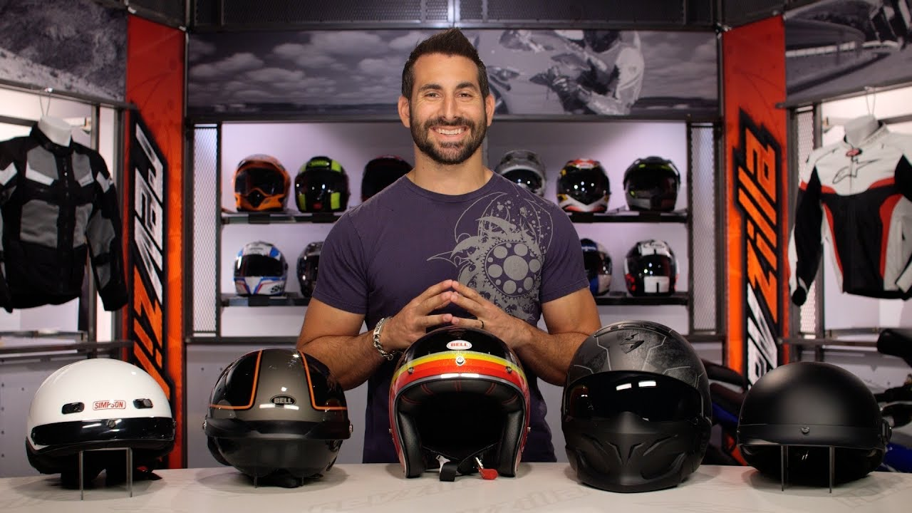 c221e3d6 Best Motorcycle Half Helmets at RevZilla.com - YouTube