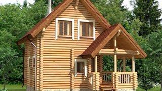 Проект рубленого дома ДСЭ 4(, 2015-12-27T15:05:22.000Z)