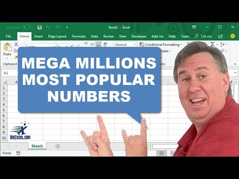 Mega Millions Most Common Numbers Drawn