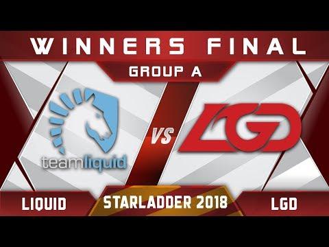 Liquid vs LGD Starladder i-League 2018 Highlights Dota 2