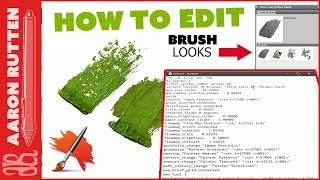 How to Edit BRUSH LOOKS in Corel Painter