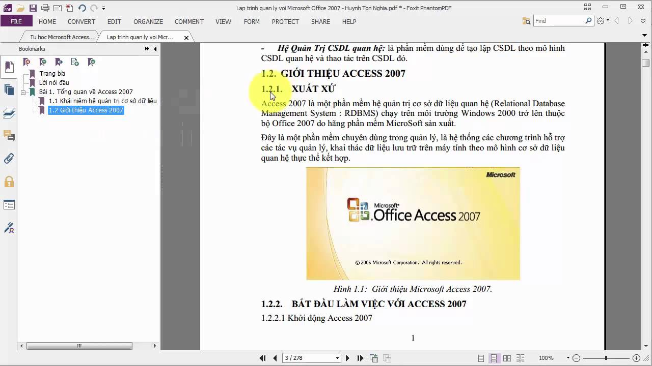 create bookmarks in pdf foxit