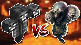 ¡MINECRAFT VS VIDA REAL! 😱 LOS MOBS DE MINECRAFT EN BUILDTUBERS #8