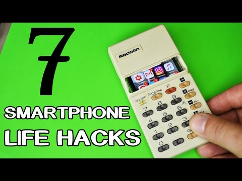 7 New Smartphone LifeHacks and Gadgets!