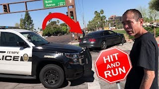 Tempe Hit and Run Suspect Chased by Citizen