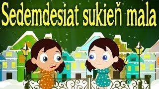 Sedemdesiat sukieň mala + 11 pesničiek | Zbierka | Slovenské detské pesničky | Slovak Folk Song