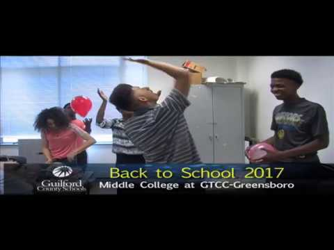 1st Day of School 2017 at The Middle College at GTCC-Greensboro