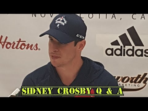 Sidney Crosby Press Conference in Cole Harbour, NS - July 12, 2017