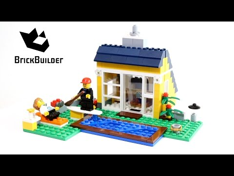 Lego Creator 31035 Outdoor swimming pool - Lego Speed Build