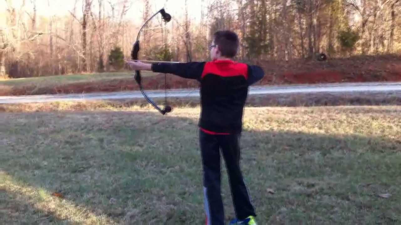 I'm learning archery? Barnett banshee quad compound bow youtube.