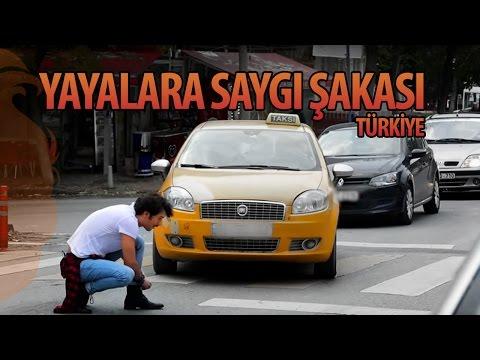 Yayalara Saygı Şakası Türkiye - Hayrettin