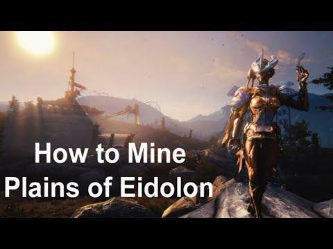 Warframe - How to Mine: Plains of Eidolon