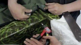 «Лодка 44» - Видео инструкция по установке тента