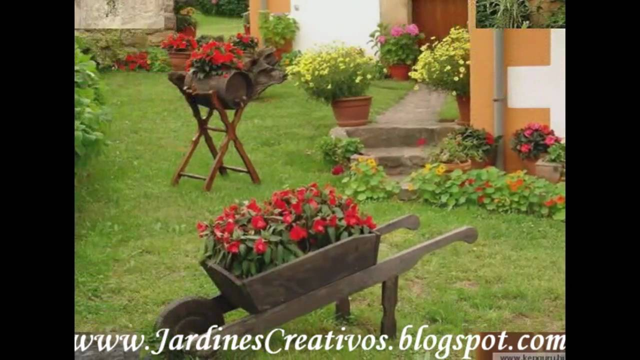 Bellos jardines youtube for Cascadas para jardin fotos