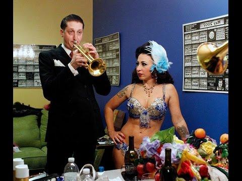Brian Newman & Angie Pontani at the Rainbow Room