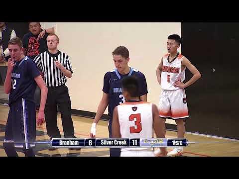 Boys Basketball: Branham at Silver Creek