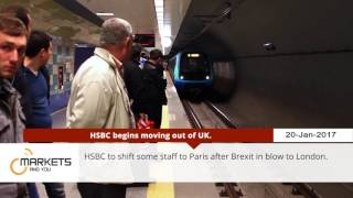 Markets And YOU - HSBC to shift staff to Paris