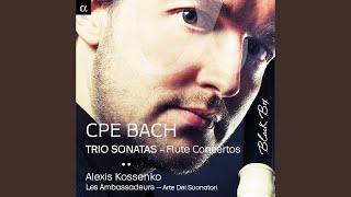 Trio Sonata in D Major, Wq. 151: I. Allegro un poco