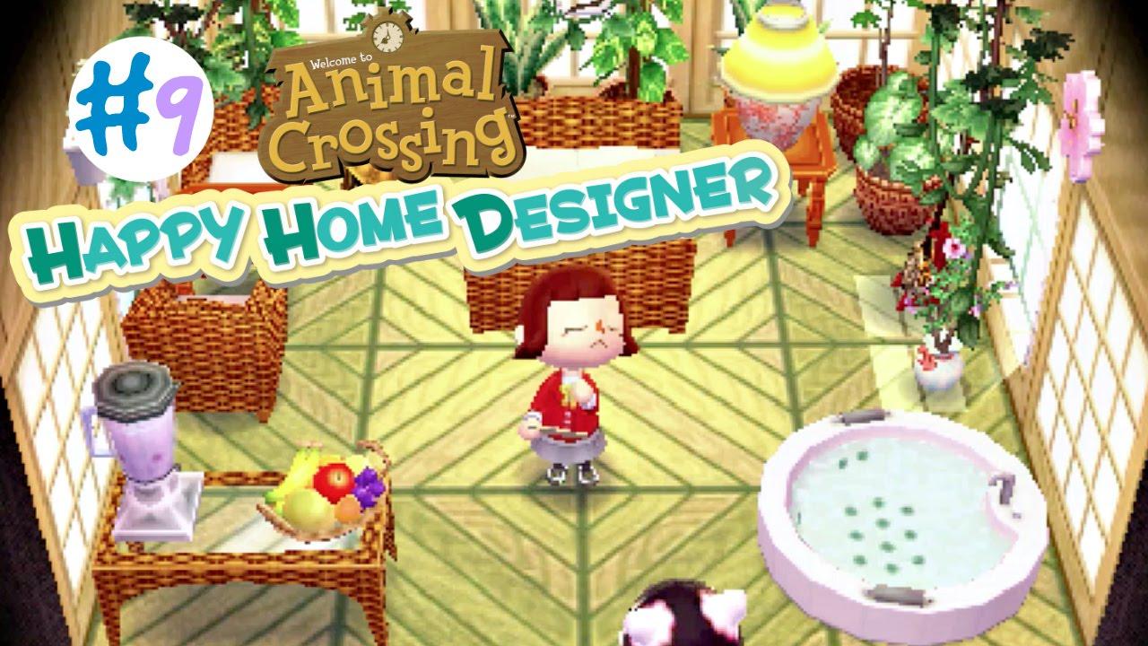 Animal Crossing: Happy Home Designer :: #9 :: Pekoe's Exotic Resort - YouTube