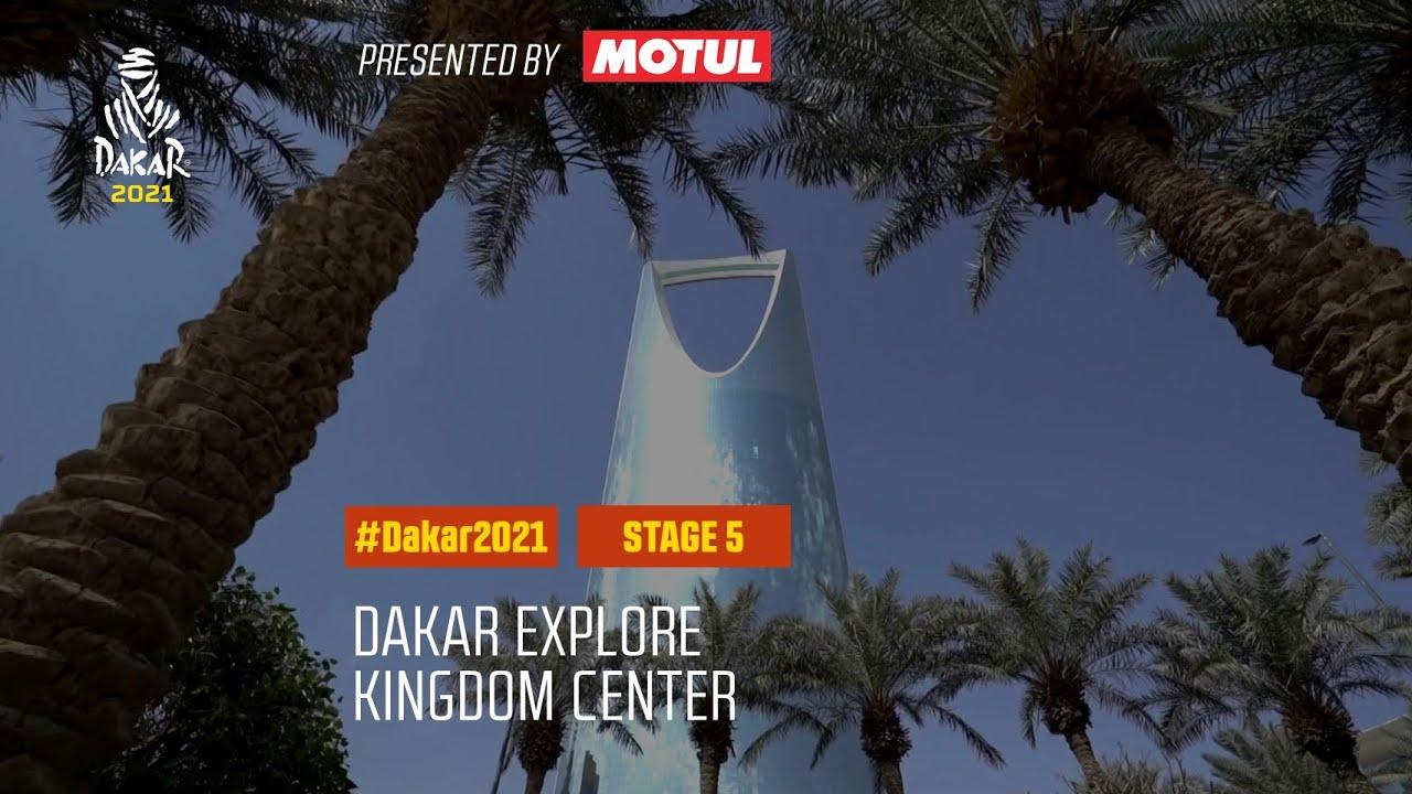 #DAKAR2021 - Stage 5 - Kingdom Center Tower Riyadh