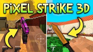 CRAZIEST GAME MODE EVER... | Pixel Strike 3D (Gun Game Gameplay)
