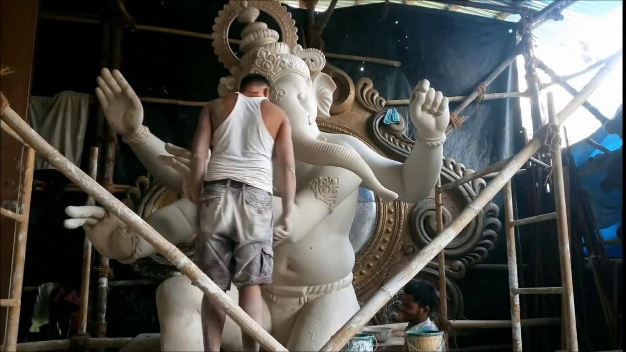 Ganpati a week away: Small, Bahubali to huge, watch how