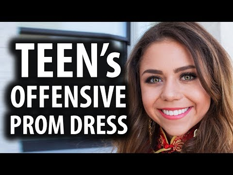 Teen's Prom Dress Slammed for Cultural Appropriation