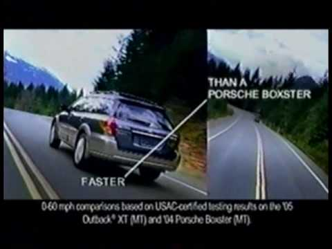2005 Subaru Outback Commercial Youtube
