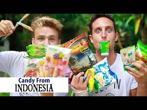 Trying Weird Candy in Indonesia | Bali Day 6