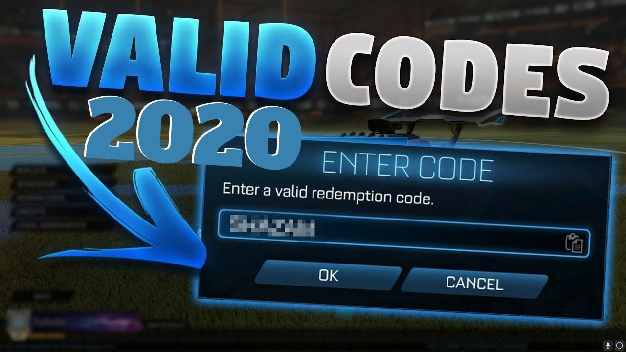 Alle Rocket League Codes May 2020 Youtube
