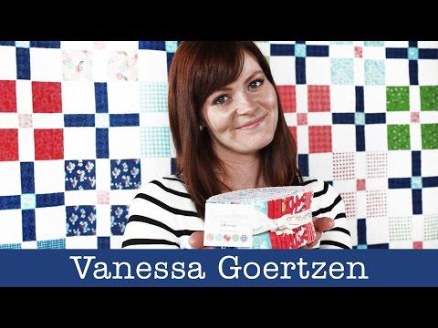 Q & A with Vanessa Goertzen of Lella Boutique for Moda Fabrics