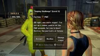 Mercenaries 2: World in Flames (PC) Gameplay (Offline Single) - Sniping Challenge: Level 3