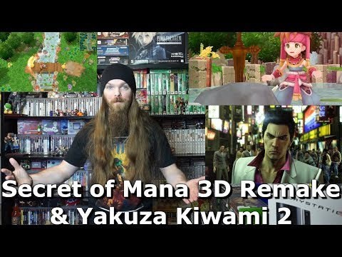Secret of Mana 3D Remake & Yakuza Kiwami 2 - AlphaOmegaSin