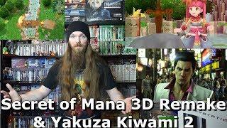 Secret of Mana 3D Remake & Yakuza Kiwami 2 - AlphaOmegaSin