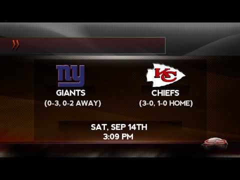 NFL Betting: 3-0 Chiefs Eager to Face 0-3 Giants