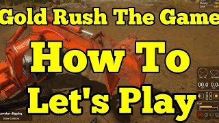 Gold Rush The Game How To Pan For Gold