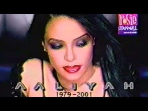 Aaliyah Tribute Video on The Rosie O'Donnell Show (2001)