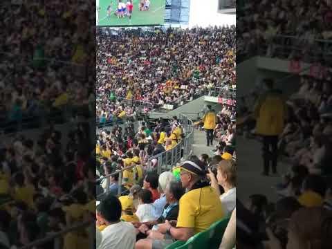 激裏TV・ラグビーW杯・全裸乱入オーストラリア人逮捕