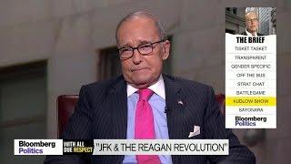 Larry Kudlow: Trump's Tax Cut Plan Is Like JFK's and Reagan's