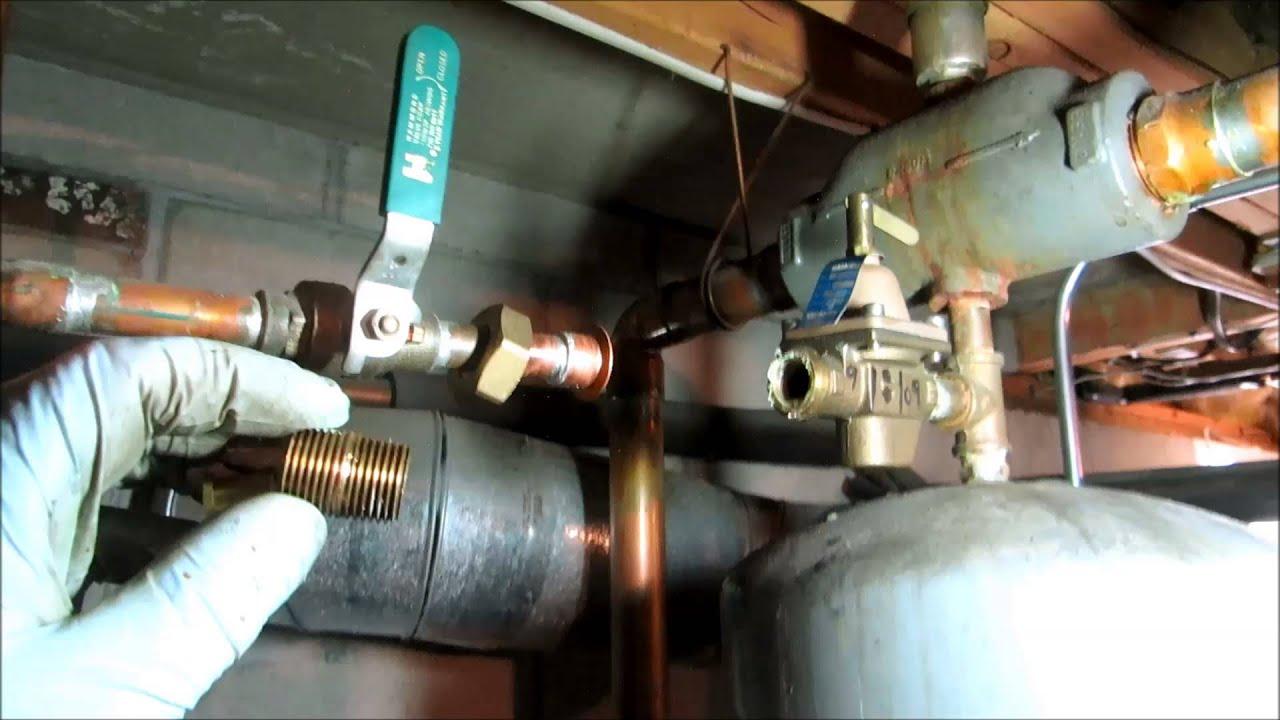 water feeder boiler the youtube valve pressure watch reducing troubleshoot