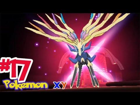 Let's Play Pokemon XY #17 จับ เซอร์เนอัส โปเกม่อนในตำนาน! AZ ชายผู้เป็นอมตะ!