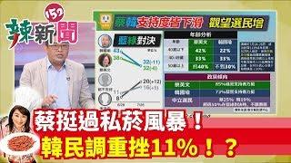 【辣新聞 搶先看】蔡挺過私菸風暴!韓民調重挫11%!?2019.07.29