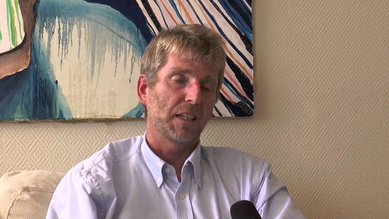 Professor Martin Lagging  beskriver upptäckten av ett vanligt medfött virusskydd