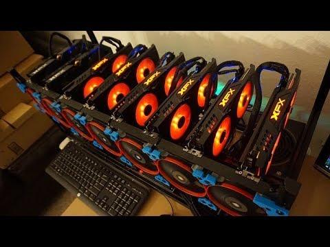 RX580 8GPU MINING RIG UPDATE!